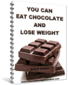 i lose weight when i eat chocolate